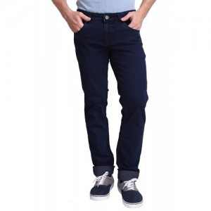 FLAGS Blue Denim Low Rise Jeans