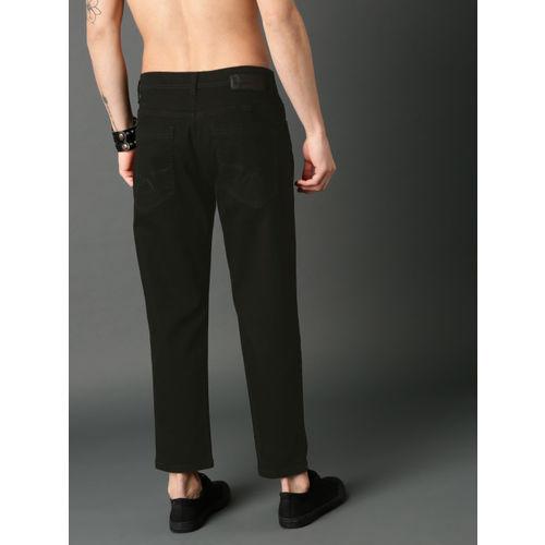 Roadster Men Black Slim Tapered Fit Stretchable Jeans