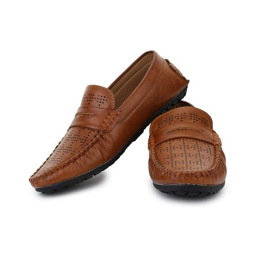 TRASE Lawton Brown Loafers for Men