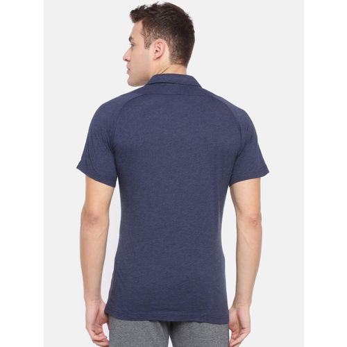 Puma Men Navy Blue Solid dryCELL Arsenal FC SSwith sponsor Logo Polo Collar T-shirt