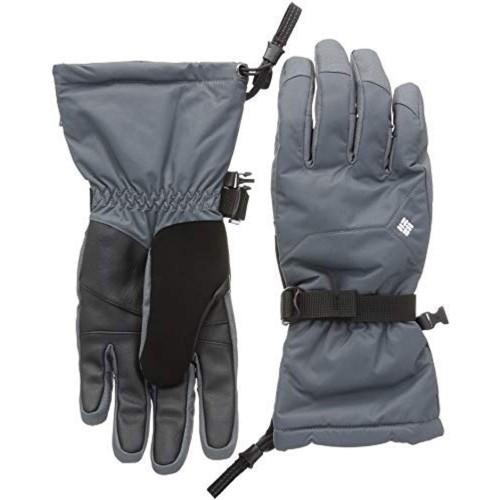 Columbia Grey  Men s Whirlibird Winter Gloves