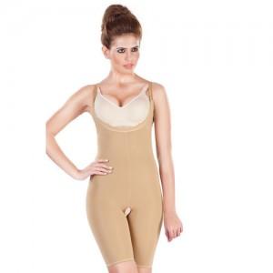 Dermawear ShapeX-NC Short Length Bodysuit with Underbust- Skin