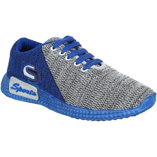 Earton Grey-742 Walking Shoes For Men(Multicolor)