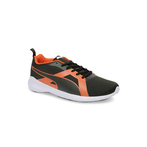 9d45fa6d Buy Puma Men Black Entrant IDP Running Shoes online | Looksgud.in