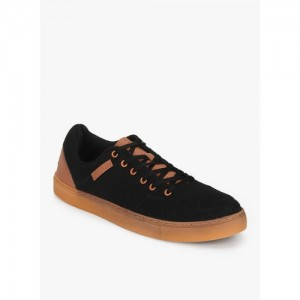 Lotto Black Solid Sneakers
