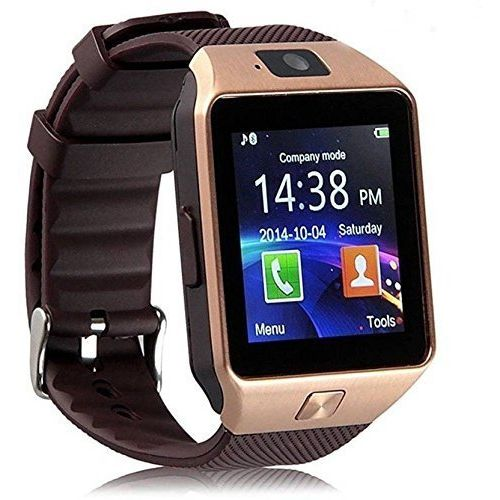 S4S Bluetooth Watch Phone with Camera and Sim Card Support for Android Smartphones(Color May Vary)