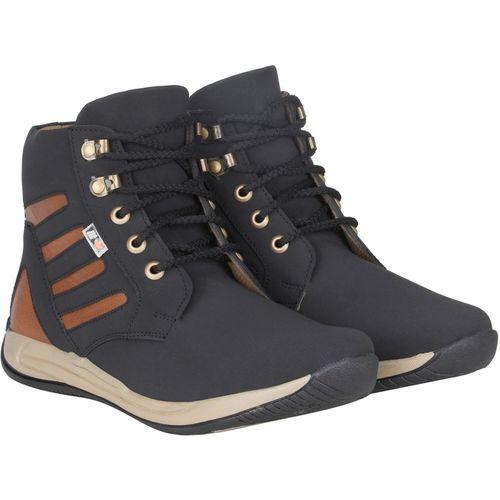 Kreuzer Boots For Men(Black)