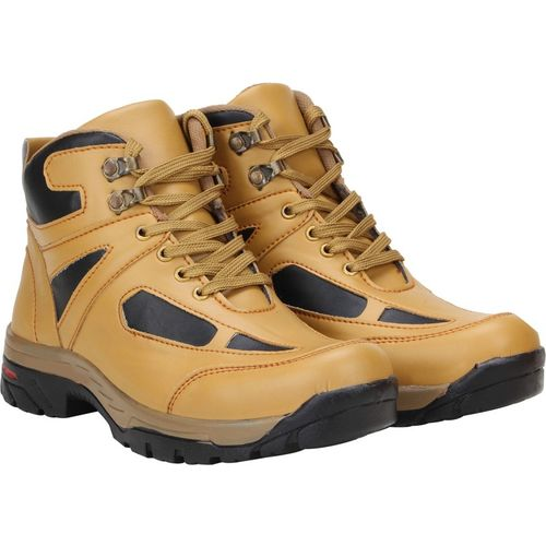 Kreuzer Rocky Tan Boots For Men