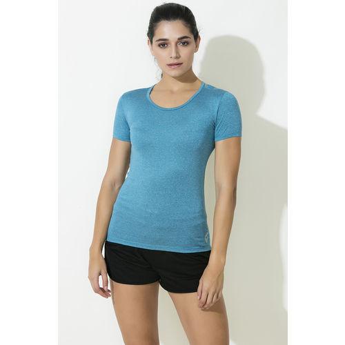 31eefa1de0b39e Buy Zelocity Decode Collection Skin Fit T-Shirt - Blue online ...
