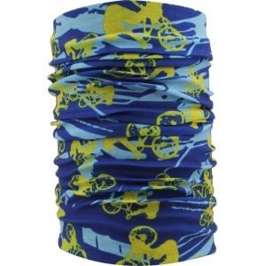 FabSeasons Unisex Blue Printed Bandana