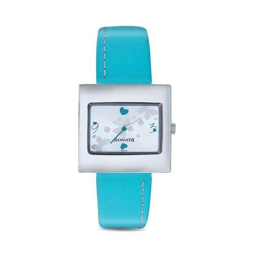 Sonata Analog Multi-Color Dial Women's Watch