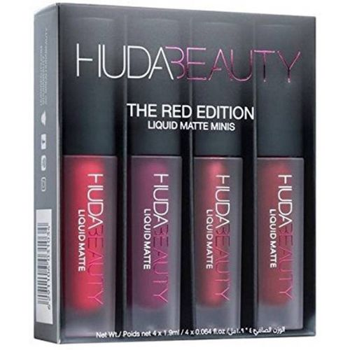 Huda Beauty Red Edition Liquid Matte Lipstick