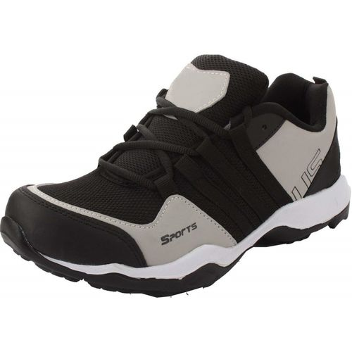 Tapps Sports Shoes Black Running Shoes For Men(Black, Grey)