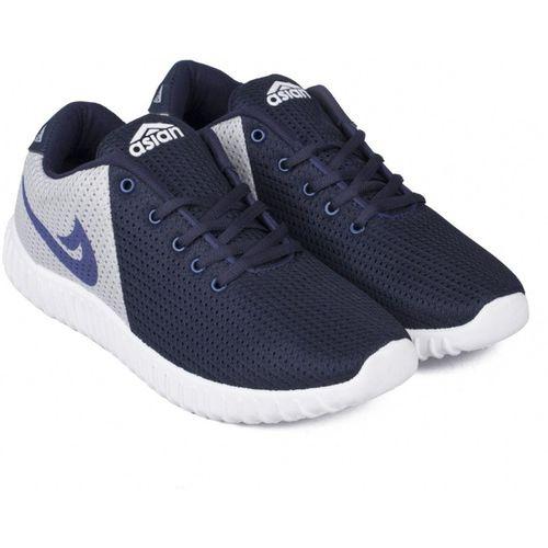 Asian Asian Walking Shoes,Training Shoes,Zym Shoes Running Shoes For Men(Navy, Grey)