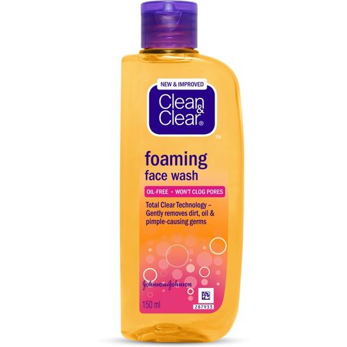 Clean & Clear Foaming Face Wash(150 ml)