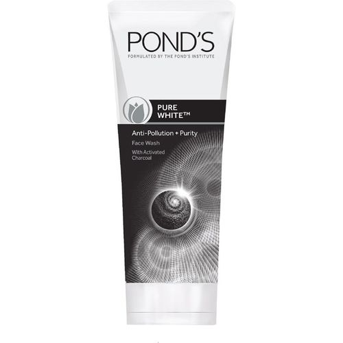 Ponds Pure White Anti-Pollution + Purity Face Wash(100 g)