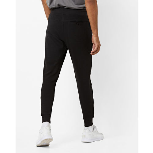 PROLINE Ribbed Slim Fit Joggers with Pockets
