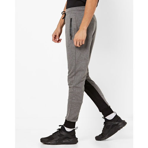 Proline Solid Men Grey Track Pants