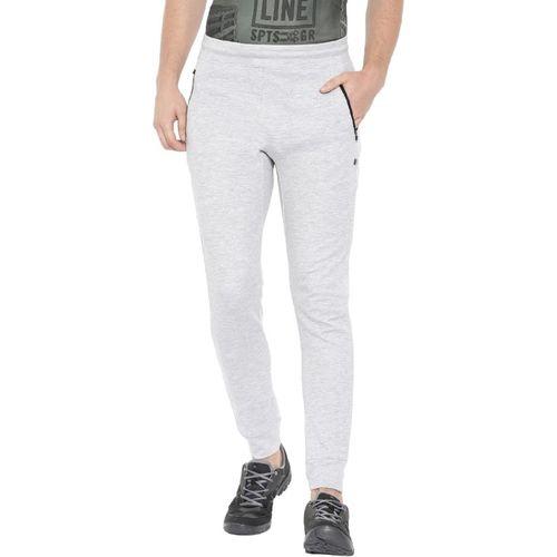 Proline Solid Men Grey Track Pants