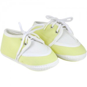 954f6f53104 Neska Moda Baby Boys and Girls Lace Yellow Booties For 0 To 12 Months  Infants SK146