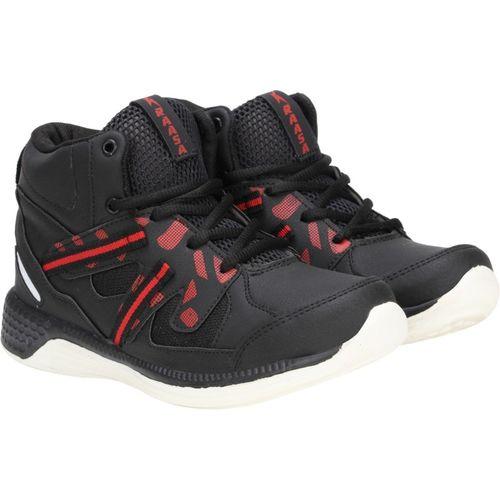 Kraasa Running Shoes For Men(Black)