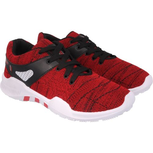 Chevit Red 443 Red Sports Shoes