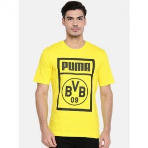 94dccfb2 Buy Puma Men Blue Printed P48 Modern Sports T-shirt online | Looksgud.in