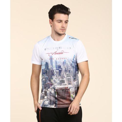 Lotto Graphic Print Men's Round Neck Multicolor T-Shirt