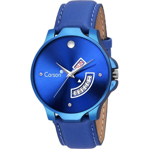Carson Day And Date Functioning Watch