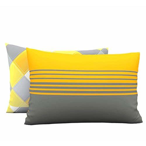 LORETO - A QUALITY LINEN BRAND Loreto - A Quality Linen Brand 144 TC 100% Cotton Double Bedsheet with 2 Pillow Covers, Multi Colour