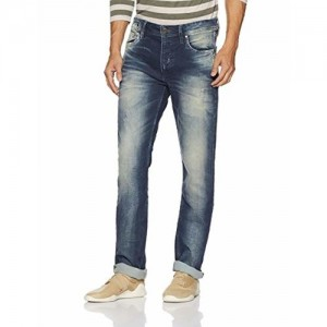 Jack & Jones Men's Clark Straight fit Jeans