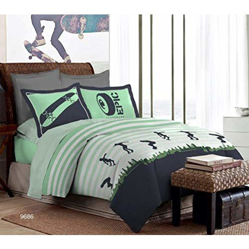 Bombay Dyeing Spree 100% Cotton One Double Bedsheet with 2 Pillow Covers