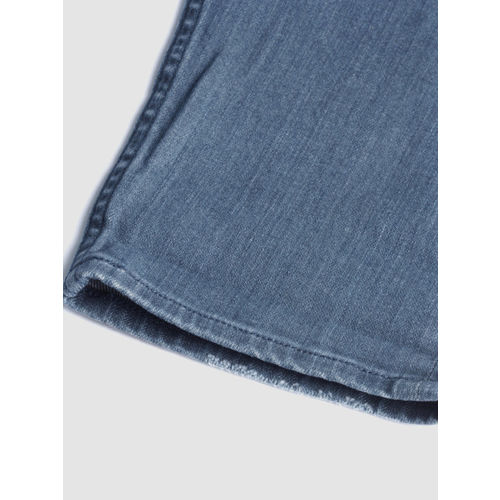 Calvin Klein Jeans Men Blue Tapered Fit Mid-Rise Clean Look Stretchable Jeans