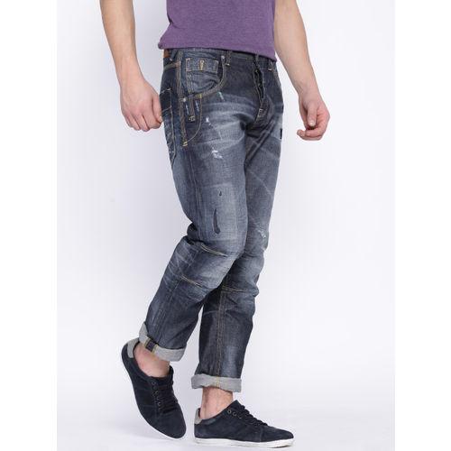 Jack & Jones Blue Boxy Loose Fit Jeans