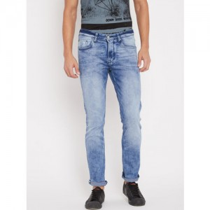 Being Human Men Blue Slim Fit Mid-Rise Clean Look Stretchable Jeans