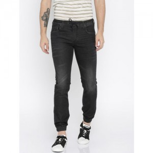 Jack & Jones Charcoal Grey Washed Comfort Mike Fit Joggers