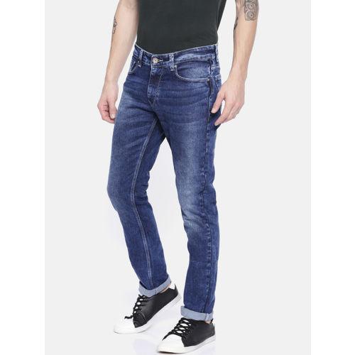 SPYKAR Men Blue Slim Fit Low-Rise Jeans