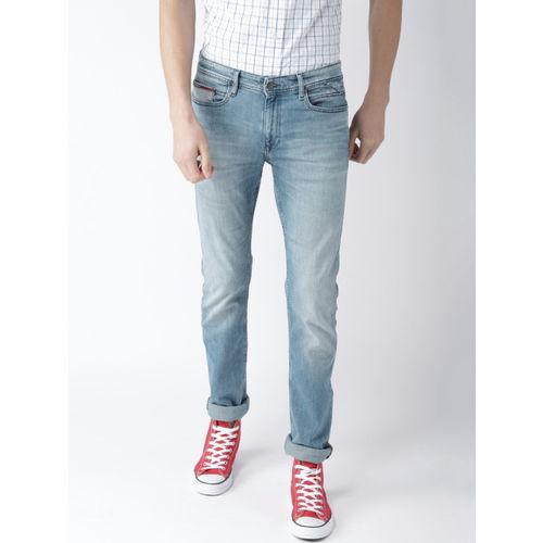 Buy Tommy Hilfiger Blue Mid Rise Slim Fit Jeans for Men