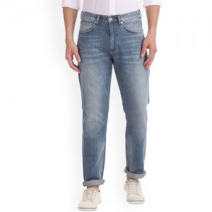 GANT Men Blue Relaxed Fit Mid-Rise Clean Look Jeans