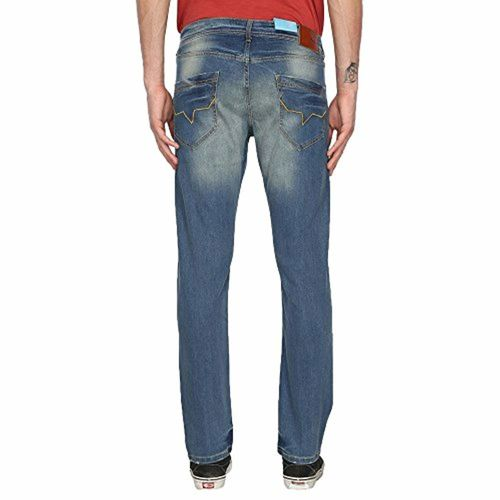 Pepe Jeans Pepe Mens 5 Pocket Heavy Wash Jeans