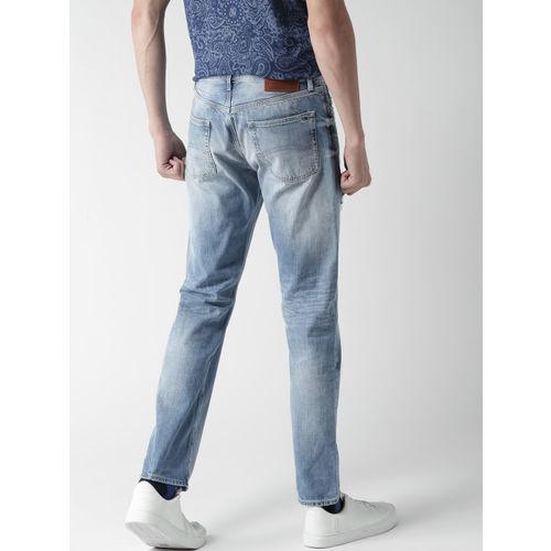 Tommy Hilfiger Mens Slater Slim Straight Fit Jeans
