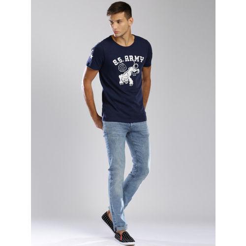 Tommy Hilfiger Men Blue Slim Fit Stretchable Jeans