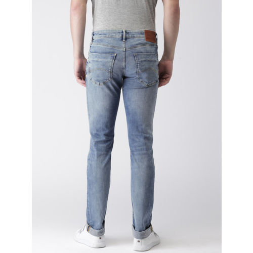 Tommy Hilfiger Men Blue Slim Fit Stretchable Jeans