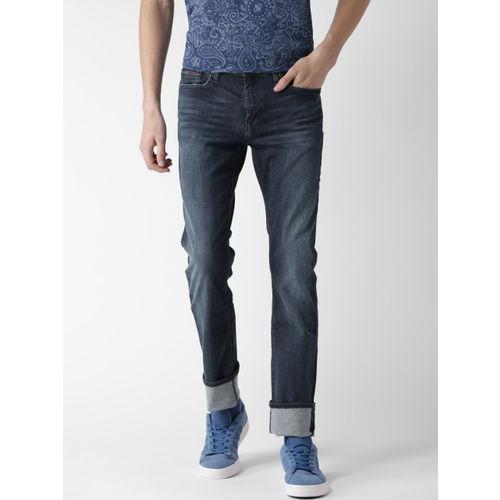 1189b8e2f Buy Tommy Hilfiger Men Navy Sage Slim Fit Stretchable Jeans online ...