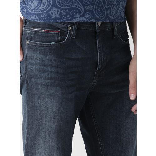 Tommy Hilfiger Men Navy Sage Slim Fit Stretchable Jeans