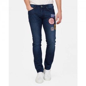 GAS Lightly Washed Jeans with Applique