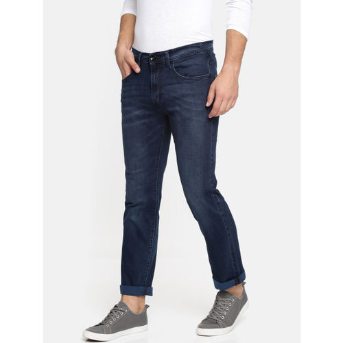 Buy Pepe Jeans Men Blue Jedan Holborne Regular Fit Mid Rise