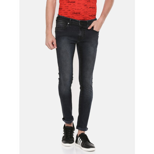 Pepe Jeans Men Black Cane Super Skinny Fit Low-Rise Clean Look Stretchable Jeans
