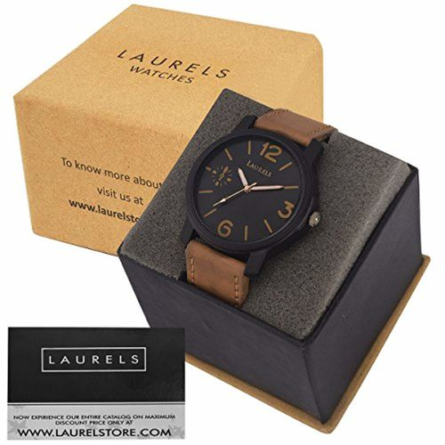 Laurels Analog Black Dial Men's Watch - Lmw-Phtm-020902