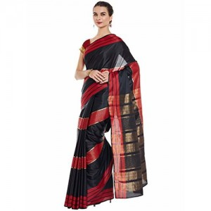 Chhabra 555 Women's Saree With Blouse Piece